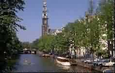 The Westertoren in Amsterdam The Netherlands